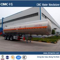 Quality tri-axle 40,500litres fuel tanker trailers for sales in Ghana wholesale