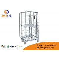 China Chrome Plated Material Carrying Trolley Customized Logo With Wheels on sale