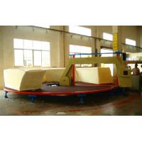 Quality High Performance Foam Cutting Machine , Circle Horizontal Cutter With Invertor Control wholesale