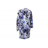 Quality 65% Linen 35% Cotton Ladies Printed Dresses Soft Smooth Good Hand Feeling wholesale