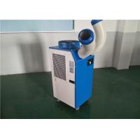 China 1 Ton Spot Cooler / Commercial Spot Coolers 3500W Manual Controlling Eco Friendly on sale