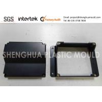 Quality Precision Injection Molded Plastic Parts Black ABS Top Base Cover MT Texture wholesale