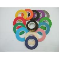 China 12, 24, 36, 48mm width recycled colorful masking tape on sale