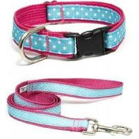 Quality Pink Dog Collar and Leash (A37126) wholesale