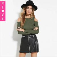 China 2016 spring new sexy strapless Europe OL Slim bottoming shirt knit long-sleeved T-shirt on sale