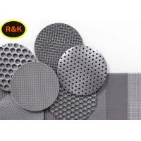 Quality Multiple Shapes Sintered Wire Mesh Five Layer 10 Micron Filter Rating 99% wholesale