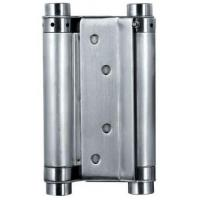 Quality Satin Stainless Steel Square Door Hinges Double Action Spring Door Hinge wholesale