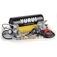Quality Dual Onboard Air System 12 Volt Silver Black Color With Air Tanks Fast Inflation Air Compressor For 4x4 wholesale