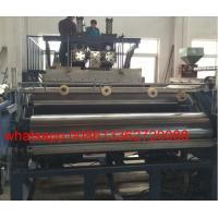 Quality Cast Stretch Film Machine 3 Layers Co Extruder Machine With Delta PLC Control wholesale