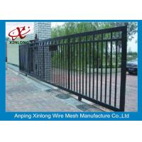 Quality Professional Automatic Sliding Gates Galvanized Pipe Material 1m Height wholesale