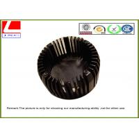 China Customized Black Anodization Aluminum Heat Sink Used For Vertical Camera on sale