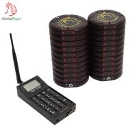China Self restaurant system Notify diners with Flash, Beep, Vibration service calling buzzer on sale