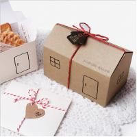 Quality Handmade Creative Custom Candy Packaging Kraft Cardpaper Material wholesale
