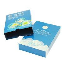 China Crack Resistant Paper Packaging Box White Cardboard ISO14001 , FSC Certificates on sale
