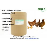 Quality High Enzyme Activity Acid Protease Enzyme , Feed Enzymes In Poultry Nutrition wholesale