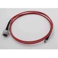 Quality Test Application RF Cable Assembly N Connecotr To SMA Semi Flex Cable wholesale