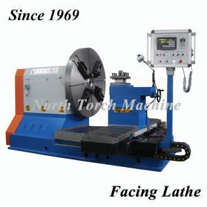China Low Noise Horizontal Lathe Machine , Cnc Metal Lathe Turning Metal Pump Part on sale