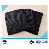 Quality 80 / 80kN Black Dewatering Woven Monofilament Geotextile High - Tenacity wholesale
