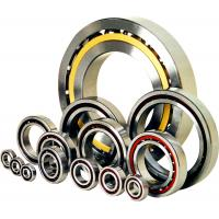 Quality Nylon Cage Single Row Angular Contact Bearing, Air Compressor Stainless Steel Ball Bearings wholesale