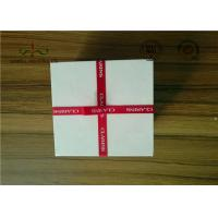 Quality Delicate Ribbon Bow Attached Color Cosmetic Packaging Boxes Square Shape wholesale