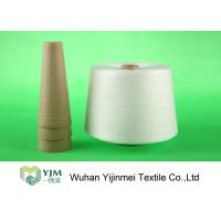 Cheap 100% Virgin Polyester Ring Spun Yarn / Dope Dyed Tube Yarn Crease Resistant for sale