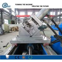 Quality C Channel Stud And Track Roll Forming Machine For GI steel 0.4-1.0mm Thickness wholesale