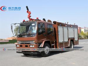 China ISUZU FVR 240HP 6000L Water Foam Fire Rescue Truck on sale