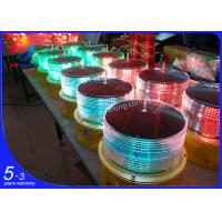 Quality LED solar powered obstruction lamp/Solar aircraft warning lamp for monopole wholesale
