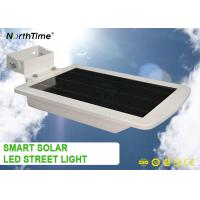 Quality 6W All In One Solar Powered Road Lights Automatic Time Control Motion Sensor wholesale