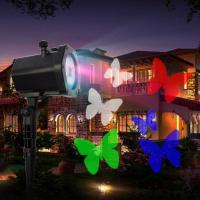 China Resort Park Outdoor Waterproof Projector Lamp Outdoor Decoration Holiday Lights Outdoor Waterproof Effect Colorful Stage on sale