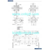 300T PLC High Speed High Pressure Aluminum, Copperbrass, Magnesium, Zinc(zamak), Lead(Pb.) Metal Alloy Die Casting Machine die platen drawing die fitting drawing mounting foundation base drawing