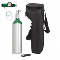 China High Pressure Steel Material Portable Breathing Oxygen Cylinder 1 Liter on sale