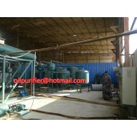 Quality Automobile Car Oil Recycling System,Engine Oil Vacuum Distillation System and  Purifying Equipment wholesale