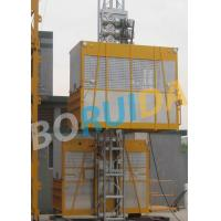 Quality Ramp Door Style Construction Material Lifting Hoist , Construction Lifting Equipment wholesale