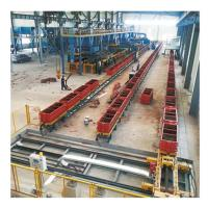 Quality Economical Foundry Casting Moulding Line Continuous Foundry Machine 100/H wholesale
