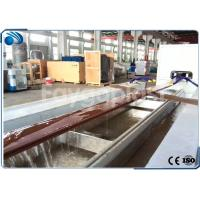 China Wood Plastic Composite Profile Making Machine Extrusion Line 380v 50hz CE Approved on sale