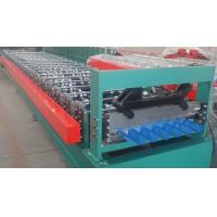 Quality High Accuracy Japan PCL Control Roof Panel Roll Forming Machine For House Roof Tiles wholesale