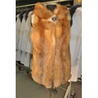 Quality new arrival red fox fur women vest wholesale