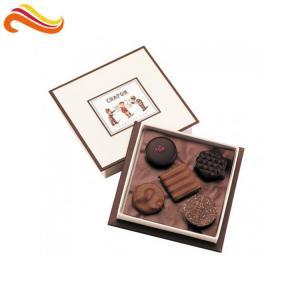 Buy cheap Luxury Paper Chocolate Packaging Box Empty Gift Packaging For Chocolate Packing from wholesalers