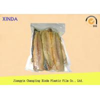 Quality Eco Frozen Fish 3 Side Sealed Vacuum Pack Storage Bags With Exquisite Gravure Printing wholesale