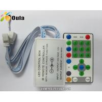Quality Aluminum 8A DC5V IR LED Lighting Controllers Support TM1809 Chip With 24 Key wholesale