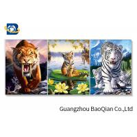 China images Change Effect 3D Lenticular Flips Picture With Lion / Tiger Animal on sale