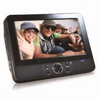 China 7-inch Dual Screen Portable DVD Player with Built-in Dolby Digital Decoder and Electronic Anti-shock on sale