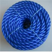 Cheap white, colors twisted or double solid diamond braided Nylon rope from AA rope for sale