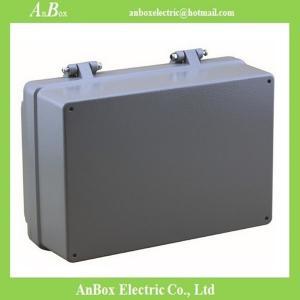 China 100*68*50mm ip66 waterproof Hinged aluminum enclosure box Factory on sale