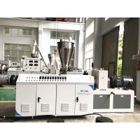Buy cheap High Capacity Plastic Profile Production Line , Pvc Pipe Manufacturing Machine from wholesalers