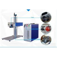 Quality 10W and 20W Fiber Laser Marking Machine for Tools black and deep marking wholesale