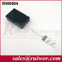 Quality Sticky Metal Plate Retractable Security Tether For Market Anti Theft 45 Gram wholesale