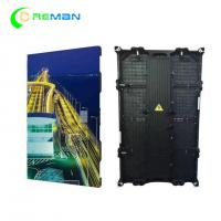 Quality Indoor Outdoor LED Display Cabinet Rental  P3.91 P4.81  500*1000mm 500X500 wholesale