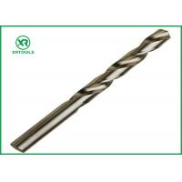 Quality Bright Finish HSS Drill Bits For Hardened SteelDIN 338 Straight Shank Left Hand wholesale